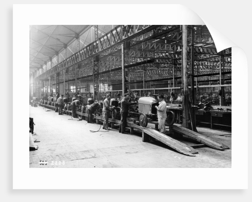 Citroen production line by Anonymous