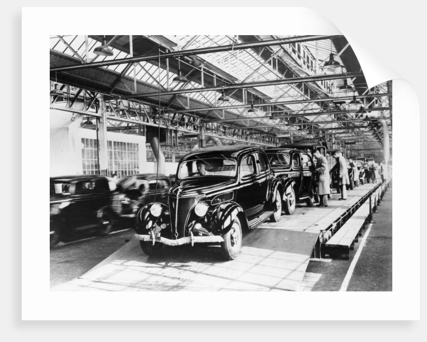 Ford factory by Anonymous