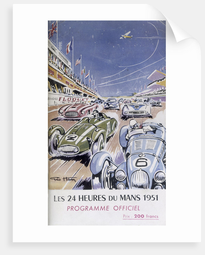 Programme for Le Mans 24 Hours by Anonymous