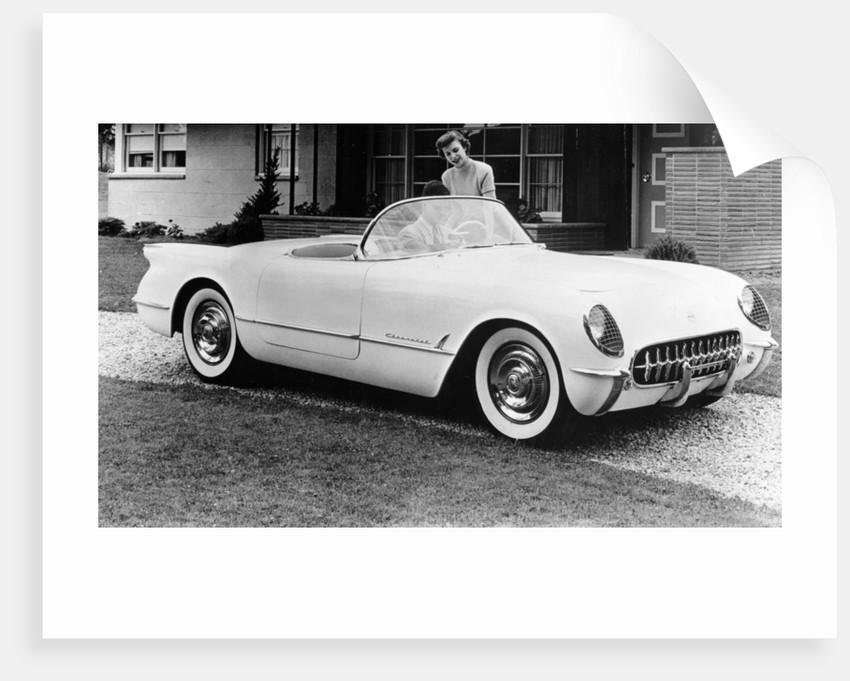 1953 Chevrolet Corvette by Anonymous