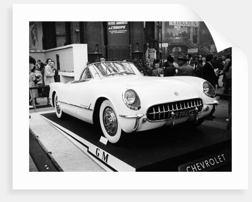 1953 Chevrolet Corvette by Anonymous