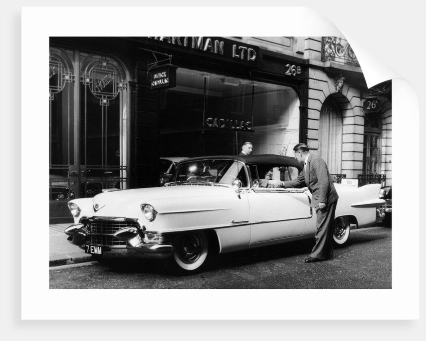 1954 Cadillac Convertible by Anonymous