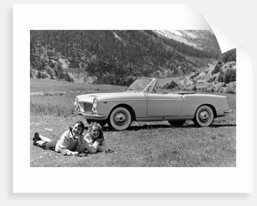 Fiat 1200 Cabriolet by Anonymous