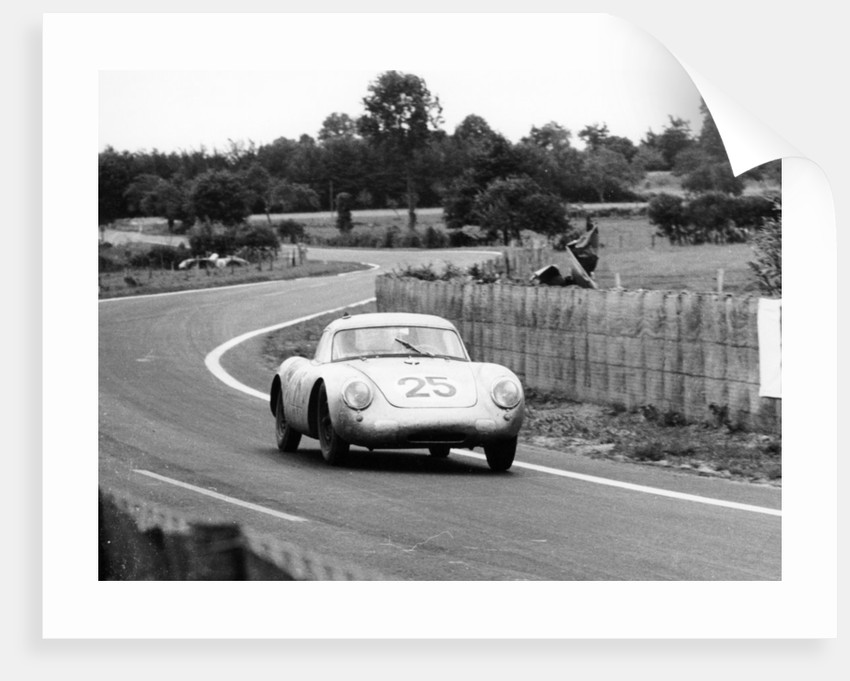 Porsche 550A RS Coupe by Anonymous
