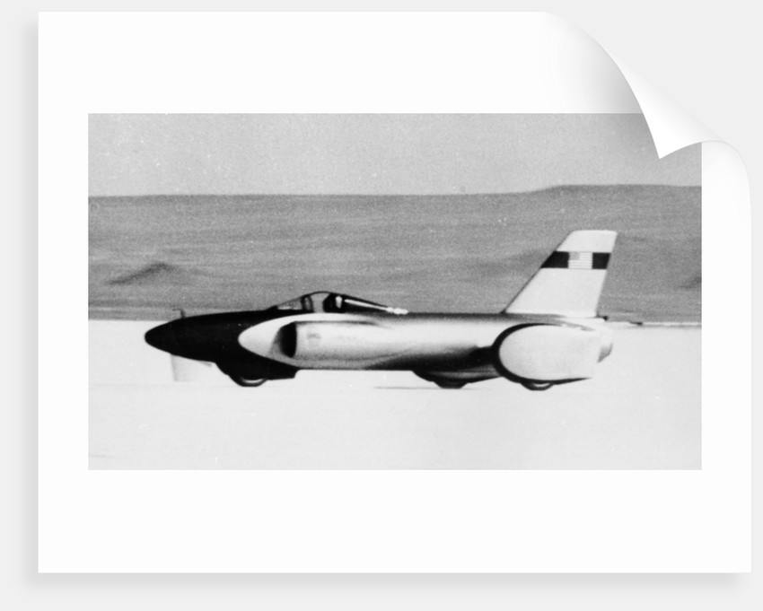 'Spirit of America' Land Speed Record car by Anonymous