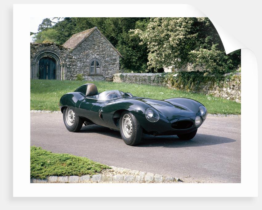 1954 Jaguar D Type by Anonymous