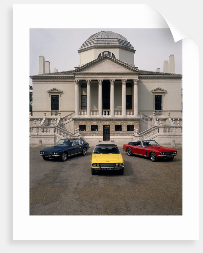 Group of Three 1974 Jensen cars by Unknown