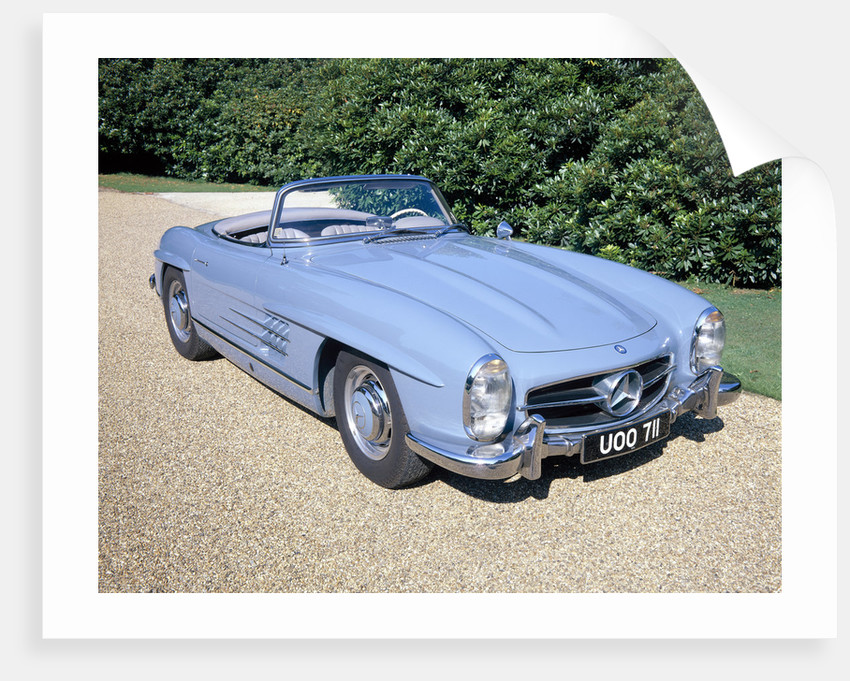 Mercedes 300SL Roadster by Anonymous