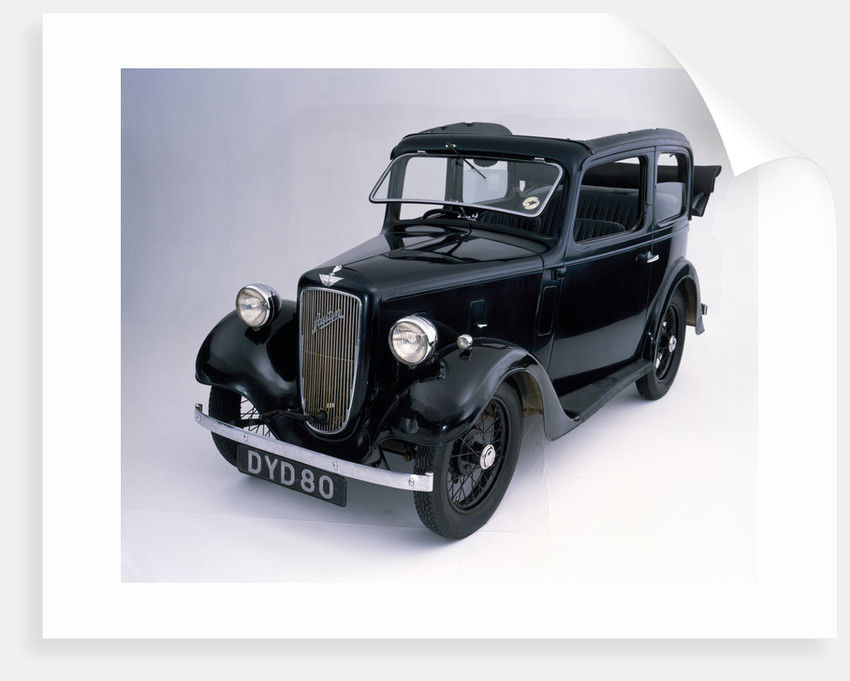 1938 Austin 7 Pearl Cabriolet car by Anonymous