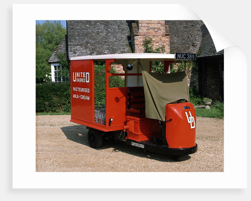 1947 Brush Pony Electric Milk Float by Unknown
