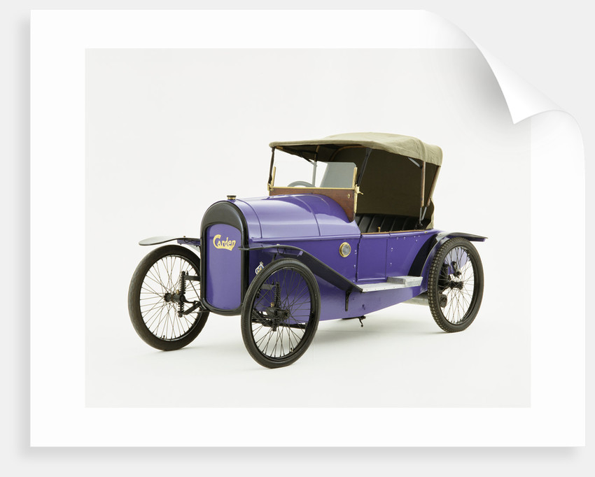 1921 Carden 7hp Cyclecar by Unknown
