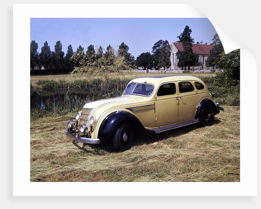 1935 Chrysler Airflow car by Unknown