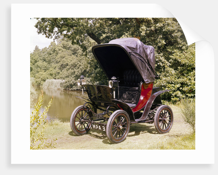 1901 Columbia Electric Car By Unknown