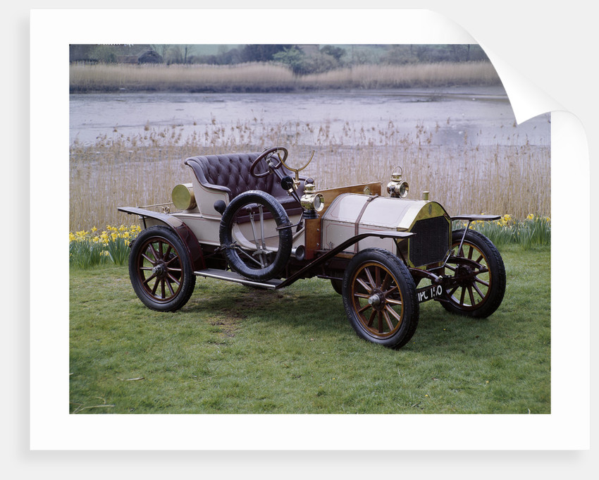 A 1909 Humber 8hp by Unknown
