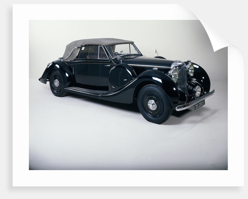 A 1939 Lagonda V12 cabriolet by Unknown