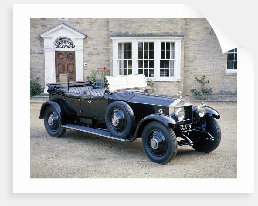 A 1925 Rolls-Royce Phantom I by Unknown