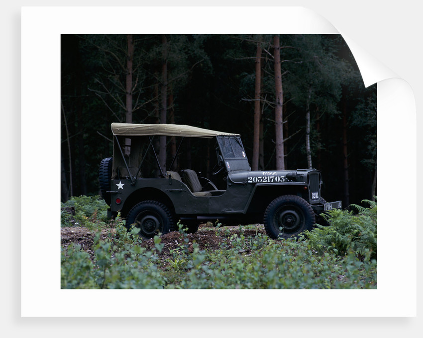 A 1943 Willys Jeep by Unknown
