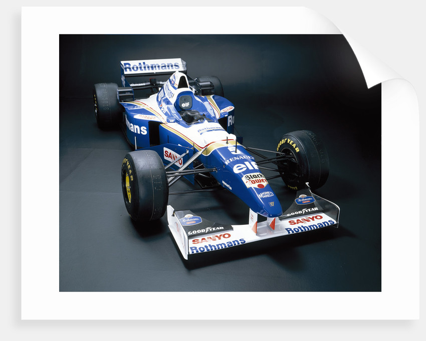 A 1996 Williams-Renault FW18 by Unknown