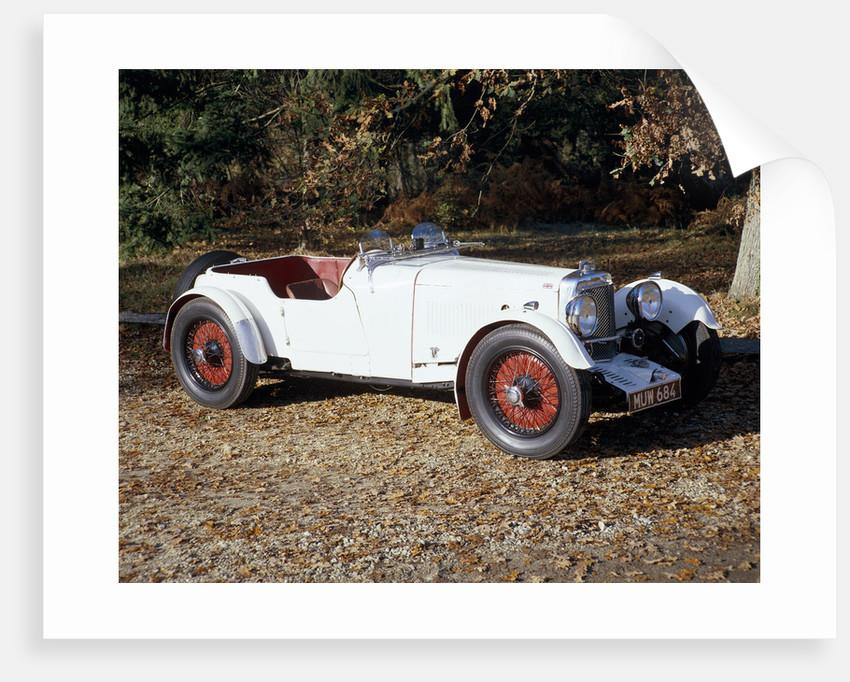 A 1933 Aston Martin Le Mans car by Unknown
