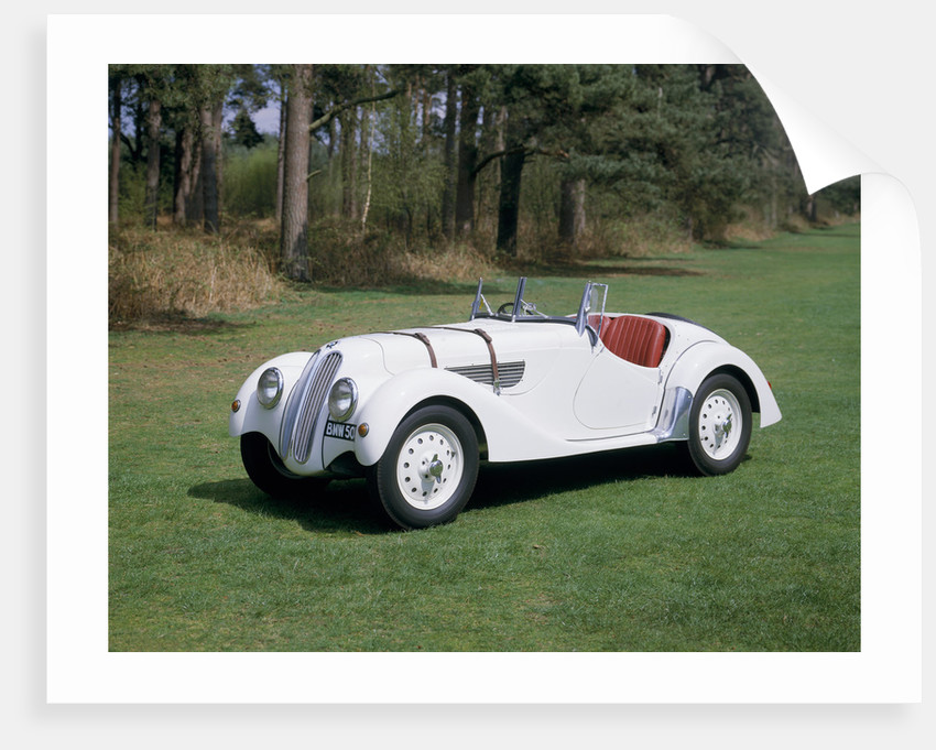 A 1937 BMW 328 by Unknown