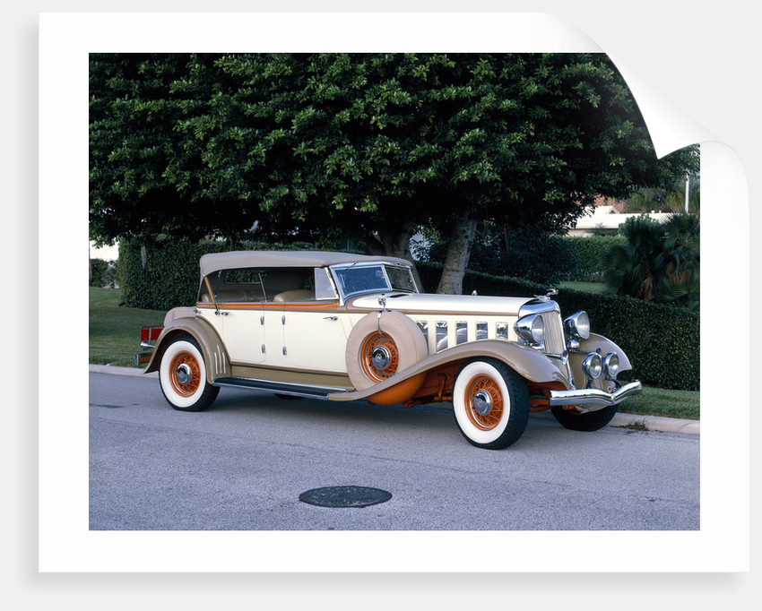 A 1933 Chrysler Custom Imperial by Unknown