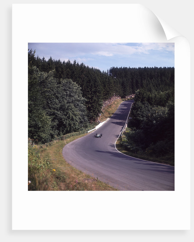 A view of part of the Nurburgring race track by Anonymous