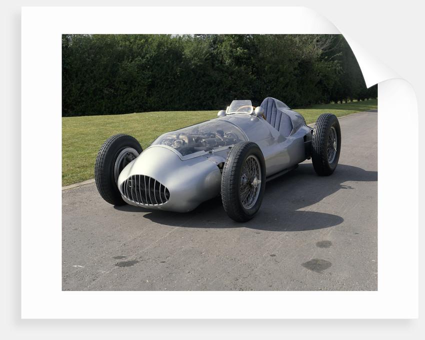 A 1938 Mercedes W165 by Unknown