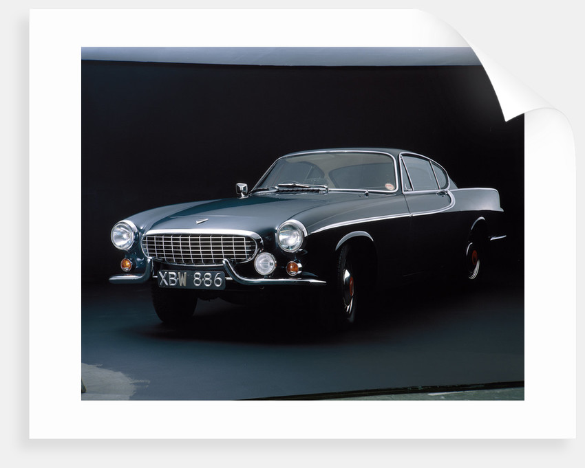 A 1962 Volvo P 1800S by Anonymous