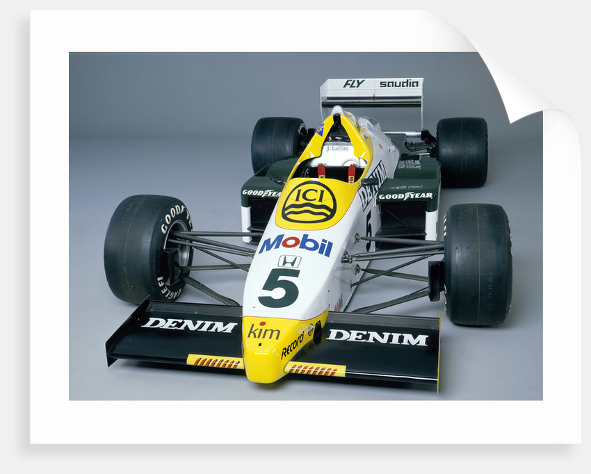 A 1984 Williams FW09B by Unknown