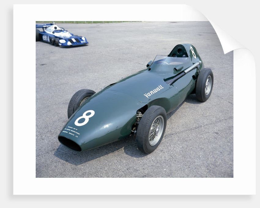 A 1958 Vanwall by Unknown