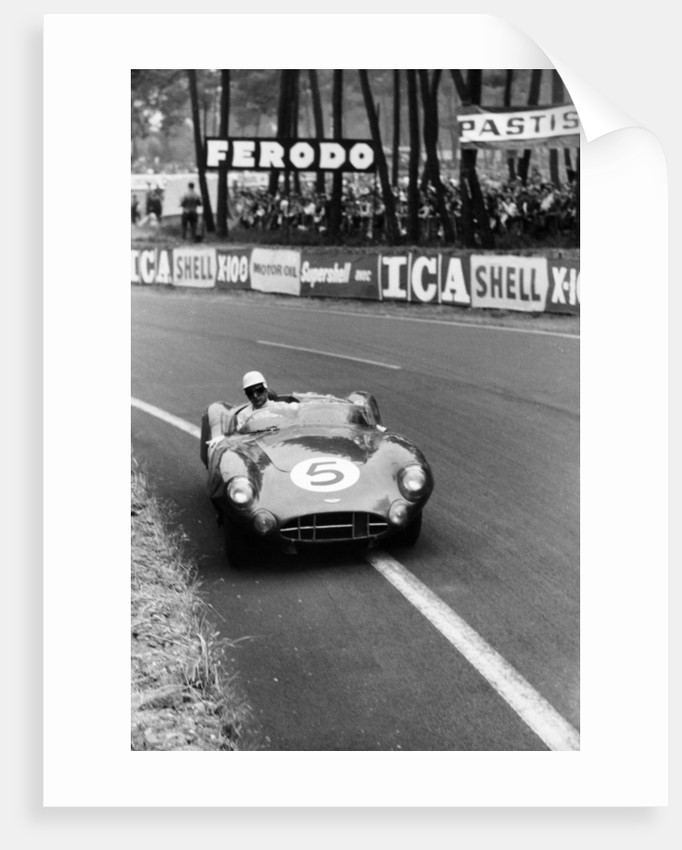 Aston Martin DBR1 in action, Le Mans 24 Hours by Maxwell Boyd