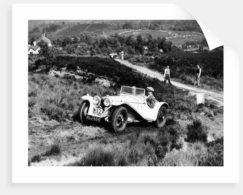 1935 Riley Imp 9hp competing in the Lawrence Cup Trial by Unknown