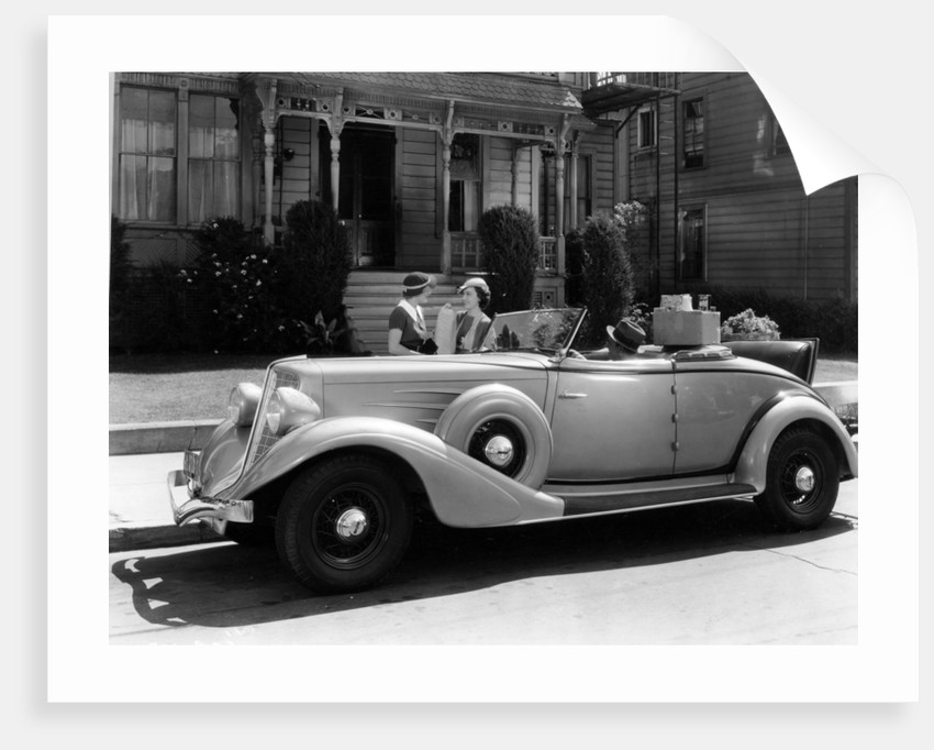 Auburn 8 Convertible Coupe by Anonymous