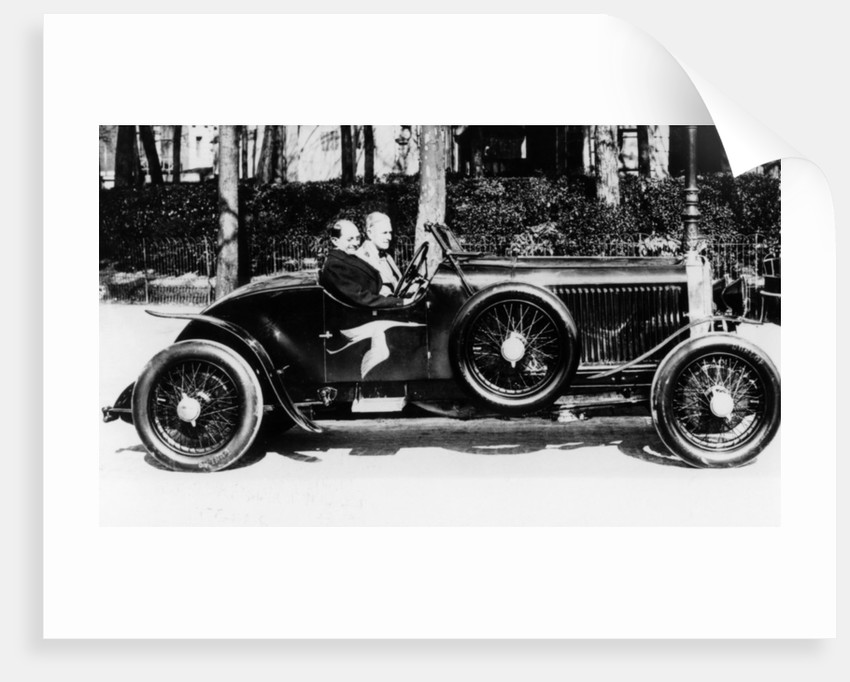 A 1928 Hispano-Suiza 45hp car by Anonymous