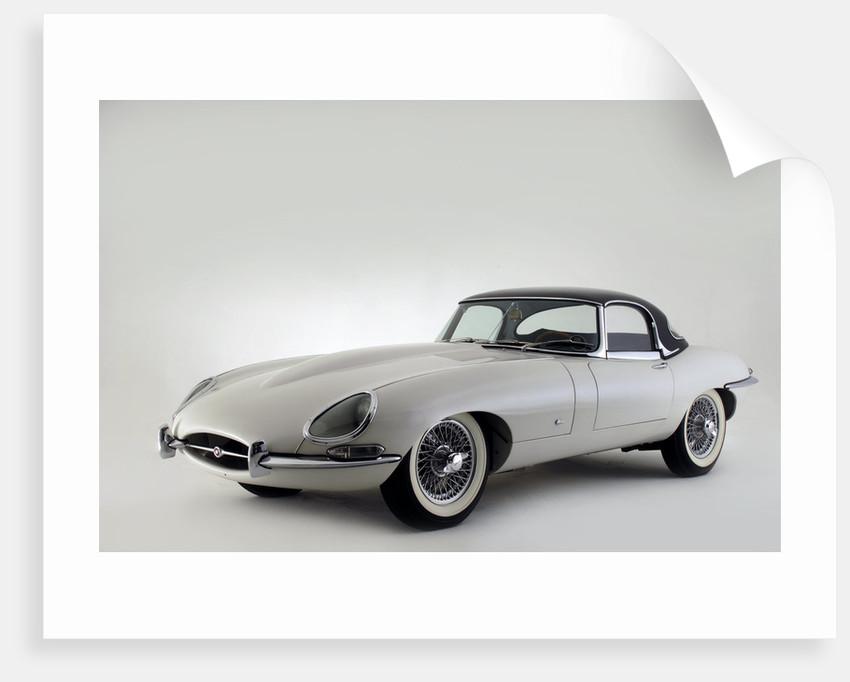 Jaguar E type 1961 by Simon Clay