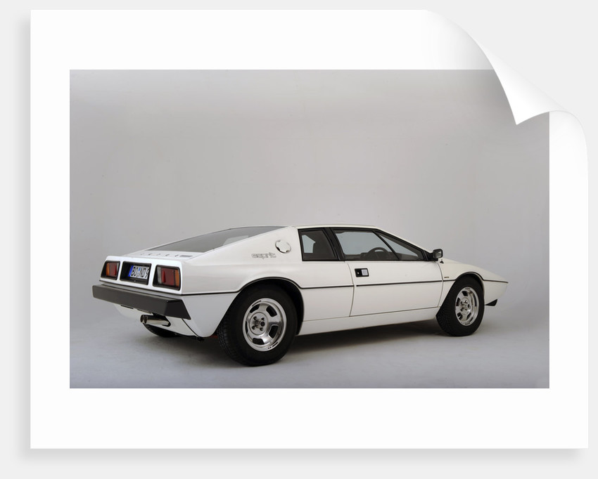 Lotus Esprit 1977 from the James Bond film The Spy Who Loved Me by Simon Clay