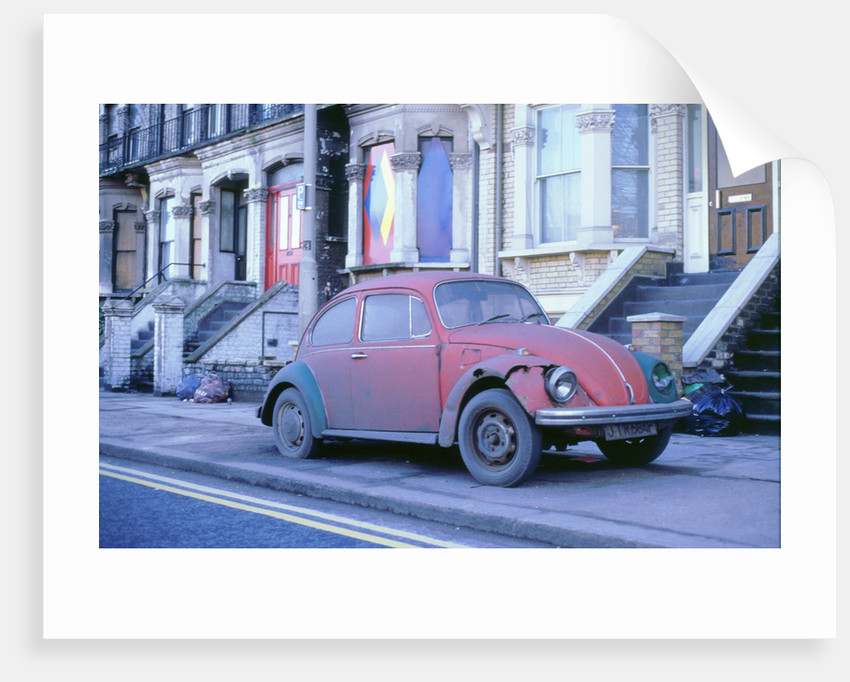 Old Volkswagen Beetle Banger by Unknown