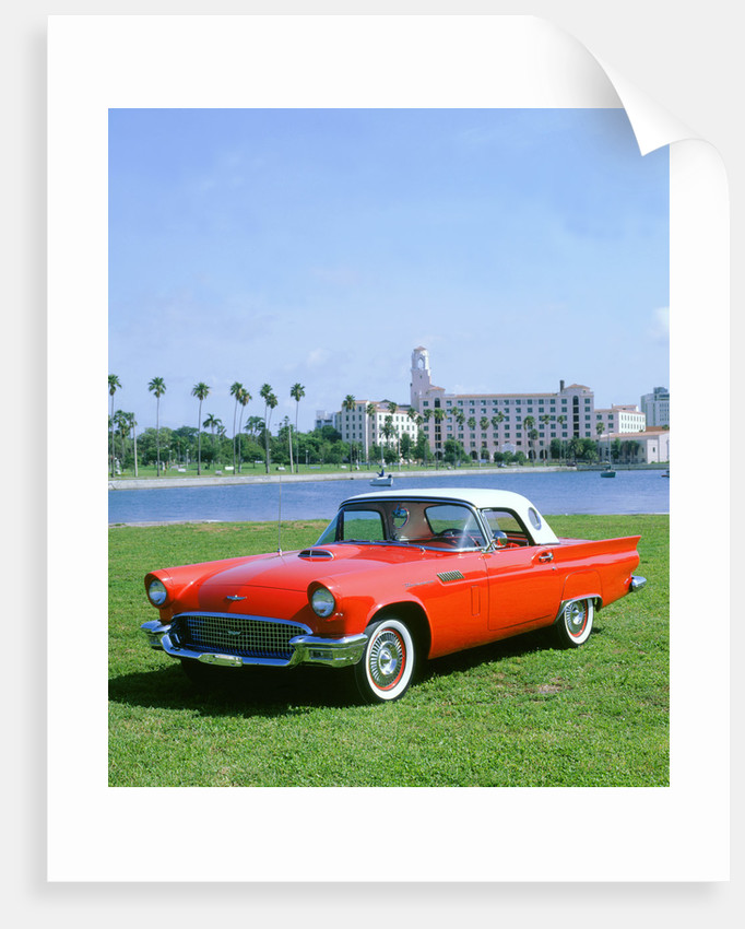 1957 Ford Thunderbird by Unknown