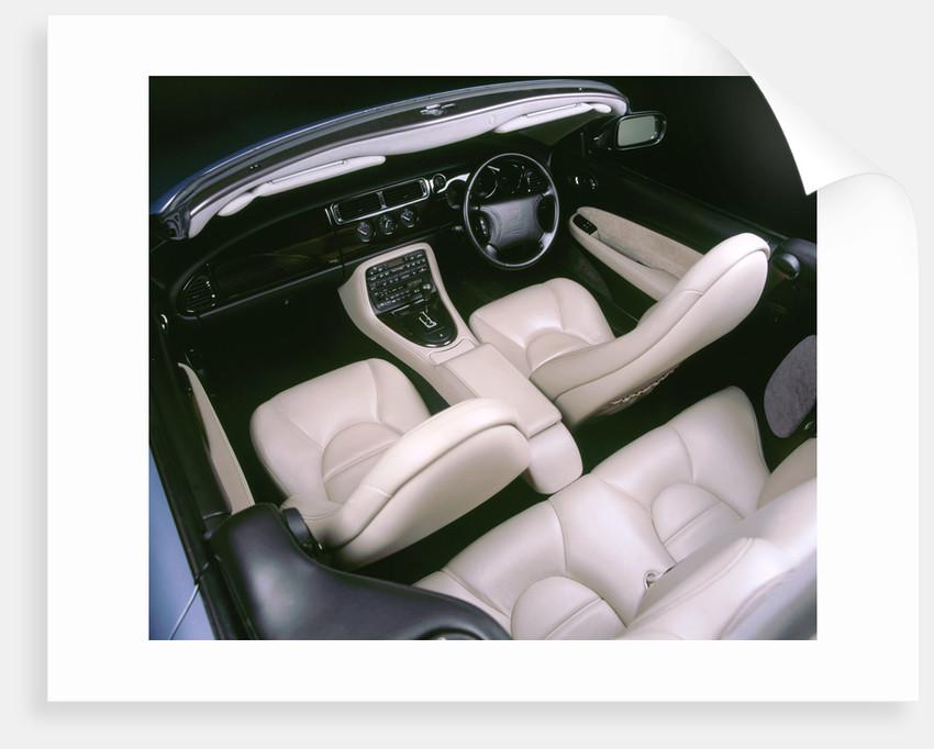 1997 Jaguar XK8 convertible interior