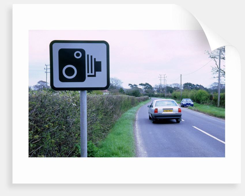 Speed Camera warning sign by Unknown