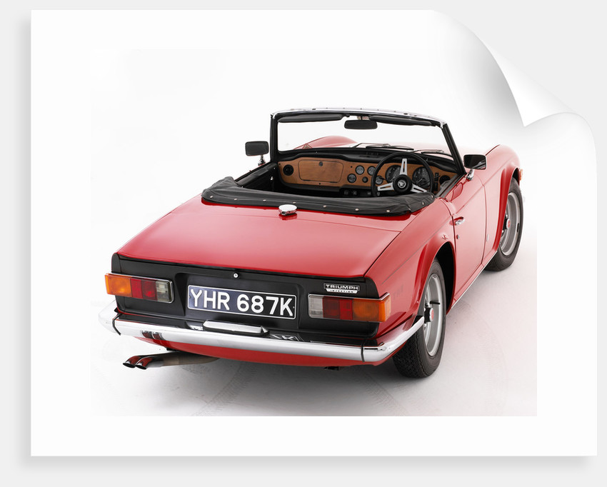 1972 Triumph TR6 by Unknown