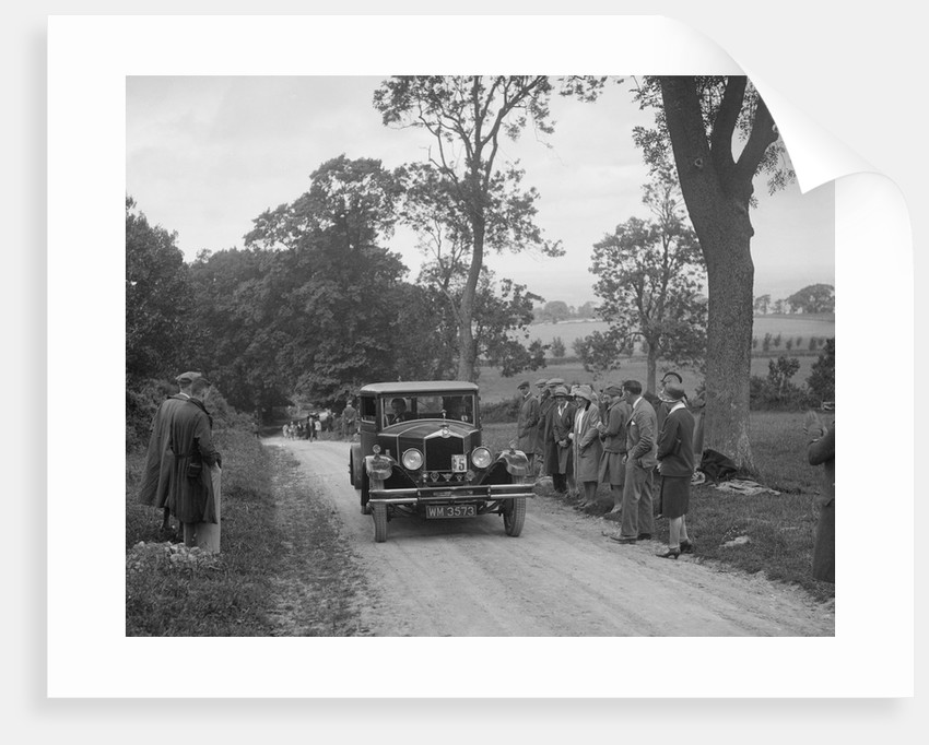1929 Crossley competing in the JCC Inter-Centre Rally, 1932 by Bill Brunell