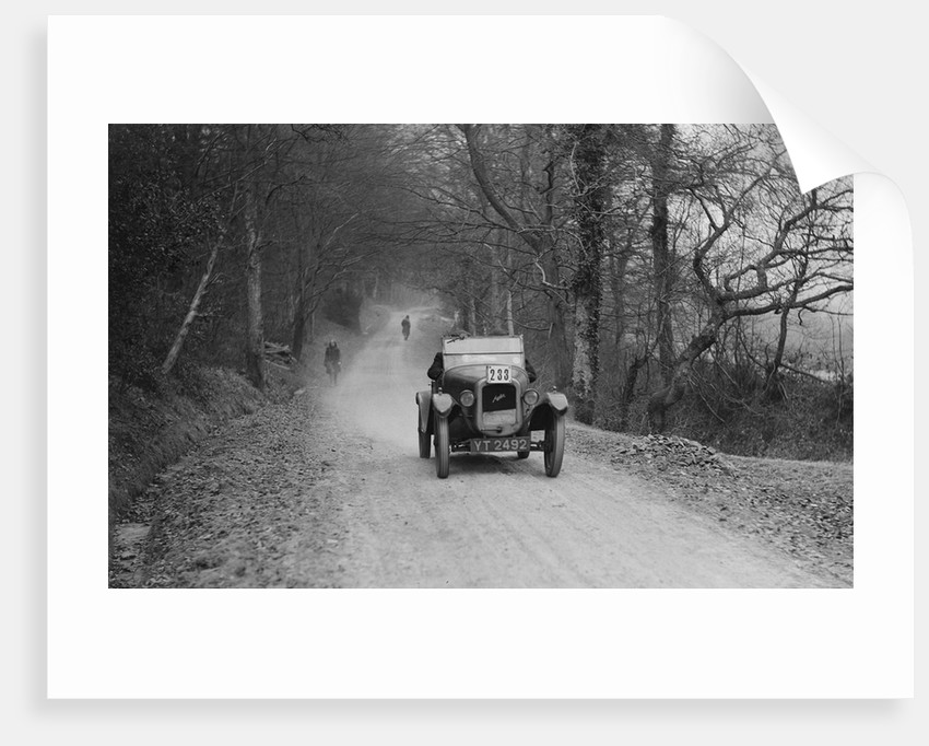 Austin 7 GE Cup model competing in the Sunbeam Motor Car Club Bognor Trial, 1929 by Bill Brunell