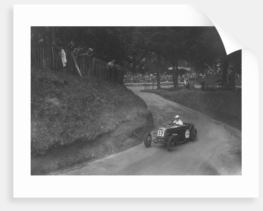 Frazer-Nash competing in the Shelsley Walsh Hillclimb, Worcestershire, 1935 by Bill Brunell