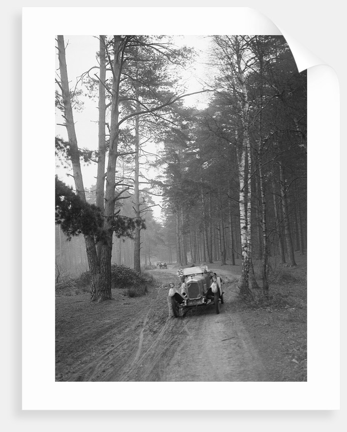 JT Chance's Enfield-Allday at the JCC General Efficiency Trial, Oxshott Woods, Surrey, 1923 by Bill Brunell