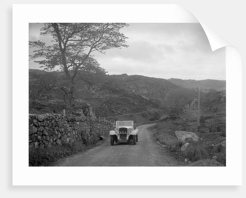 Essex Terraplane of J Esson Gibson competing in the RSAC Scottish Rally, 1934 by Bill Brunell