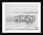 A Calthorpe Minor car on the ferry at Southampton by Anonymous