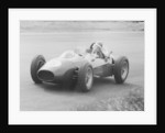 Mike Hawthorn in the Dutch Grand Prix by Anonymous