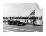 Ken Wharton in a Jaguar D Type by Anonymous