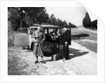 Men on a shoot with a 1939 Bedford HC 5/6cwt by Anonymous